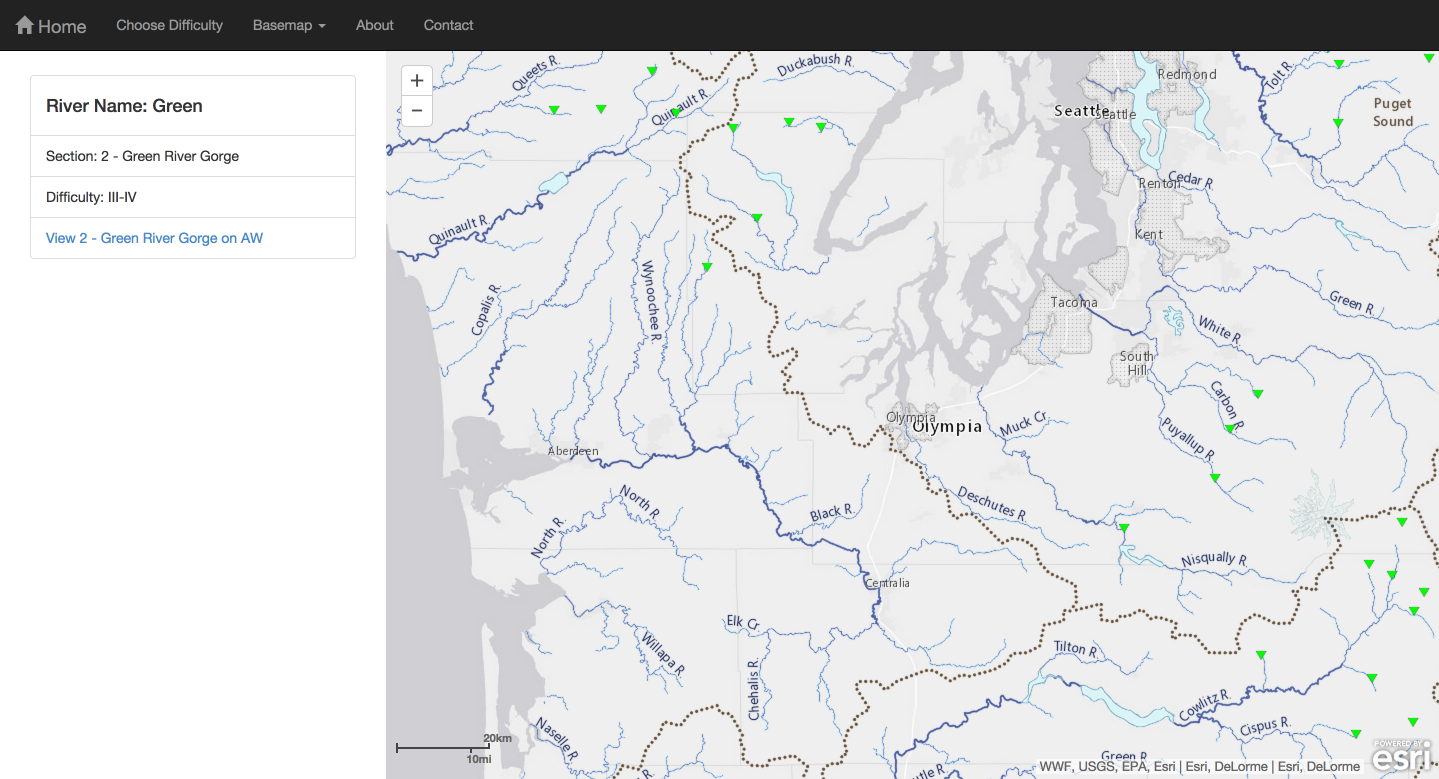 Web Mapping at the Northwest GIS Conference